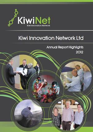 KiwiNet Annual Report Highlights 2012