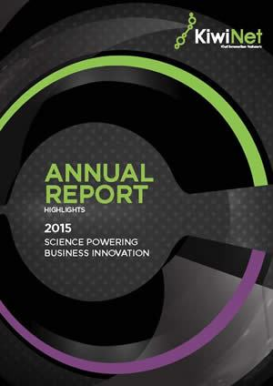 KiwiNet Annual Report Highlights 2015