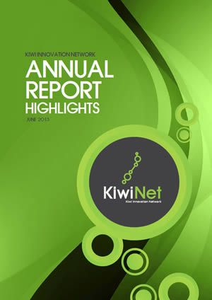 KiwiNet Annual Report Highlights 2013